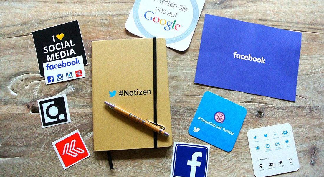 social medias on your table